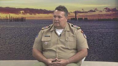 Novo comandante-geral da PM quer mais policiamento nas ruas - Coronel Lima Júnior fala das primeiras providências que pretende tomar à frente da Polícia Militar do estado.