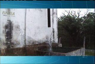 Moradores denunciam vazamento de água tratada no Bairro Granjeiro - Local vai passar por uma reforma, de acordo com a SAEC.