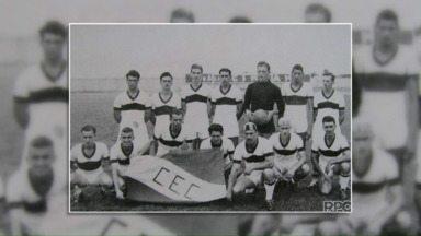 Time de futebol de Castro faz 100 anos e relembra jogo histórico - O Caramuru disputou por várias vezes a liga paranaense e chegou ao terceiro lugar em 1959.