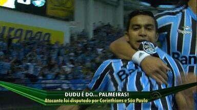 Palmeiras acerta contratacão do atacante Dudu, ex-Grêmio - Jogador era disputado também por São Paulo e Corinthians.