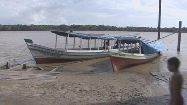 Policiais do Batalhão Ambiental recuperam duas embarcações roubadas em Santana - Policiais do Batalhão Ambiental conseguiram recuperar duas embarcações que tinham sido roubadas no município de Santana. Em um dos casos os bandidos serraram uma corrente grossa para levar a embarcação