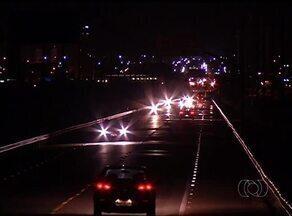 Problema de falta de iluminação na ponte FHC segue sem solução - Problema de falta de iluminação na ponte FHC segue sem solução