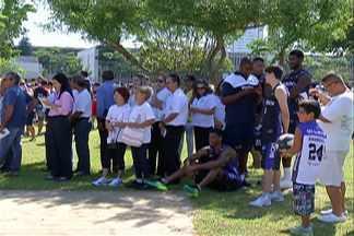 Mogi das Cruzes lança segunda etapa do programa 'Viva Mais Esporte Mogi' - 16 professores foram contratados para dar aulas nas academias da terceira idade.