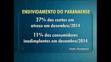 Federação do Comércio divulga balanço sobre o endividamento do consumidor - De acordo com os dados da Federação o número de endividados de 2014 se manteve estável em relação ao ano anterior.