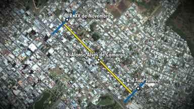 Guaratran altera sentido de rua a partir de amanhã na cidade - A mudança será na Rua Afonso Alves de Camargo, que no trecho entre a XV de Novembro e a 17 de Julho vai ter sentido único.