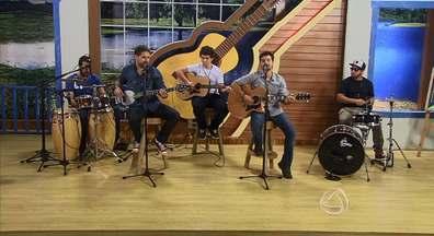 Banda Rozeta se apresenta no Meu Mato Grosso do Sul - Músicos apresentam mistura de ritmos como pop, rock e reggae. Apresentação foi ao ar em 27/09/2014