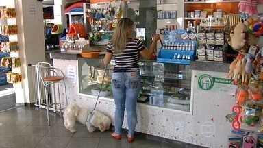 Novas regras para o setor de pet shop entram em vigor em todo país - Pets shops só podem vender produtos para os animais. A aplicação de vacinas, as cirurgias e os exames nos bichinhos devem ser feitos em consultórios ou clínicas especializadas, onde tenha um médico veterinário.