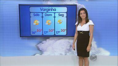 Confira a previsão do tempo no Sul de Minas para este sábado (17) - Confira a previsão do tempo no Sul de Minas para este sábado (17)