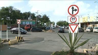 Motoristas reclamam de sinalização confusa na Ceasa em São Luís - Veja na reportagem de Jéssica Melo