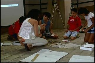 Mostra 'Udigrudi' de animação termina em Divinópolis - Além de exposição dos trabalhos, evento ofereceu atividades infantis.