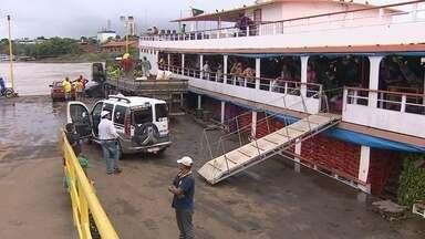 Terminal hidroviário de Porto Velho registra aumento de 40% no movimento - Crescimento foi registrado tanto no número de passageiros quanto na quantidade de cargas.