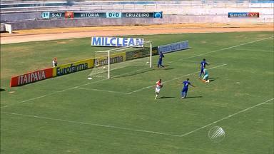 Vitória vence o Cruzeiro e vai às quartas de final da Copa de Futebol Júnior - O próximo adversário da equipe rubro-negra é o Palmeiras.