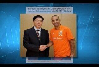 Esporte: Diego Tardelli é o mais novo reforço do Shandong Luneng time da China - O atacante já levantou 5 taças pelo Atlético.