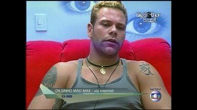 Dilsinho Mad Max revela que sair do BBB tem que ter coragem - Ele pediu para sair do Big Brother Brasil 3 depois de 25 dias de confinamento