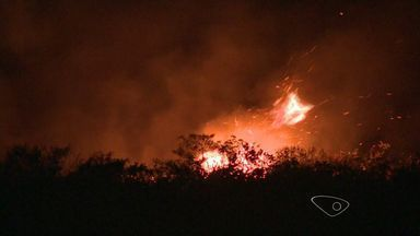 Tempo seco aumenta a propabilidade de incêndios no ES - Corpo de Bombeiros alerta para situações de risco.