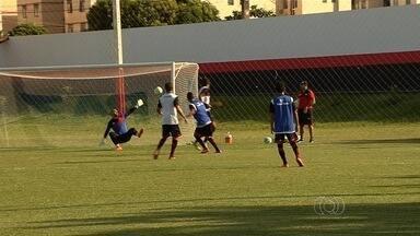 Atlético-GO se prepara para amistoso contra o Luziânia - Ainda no aguardo de reforços, Dragão faz teste nesta quarta-feira