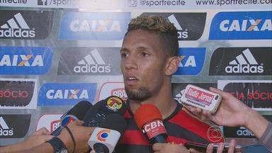 Sport anuncia uma boa disputa no ataque - Novato Samuel vai brigar por uma vaga com a revelação do time.