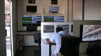 TV Gazeta apresenta a estrutura que está sendo montada para transmissão do Alagoano - Transmissões serão em HD, às quartas e aos domingos.