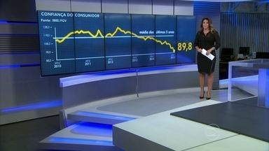 Brasileiros estão mais preocupados com as próprias finanças e as do país - Em janeiro, a confiança caiu 6,7% na comparação com dezembro. É o pior resultado desde 2005, quando a pesquisa começou a ser feita.