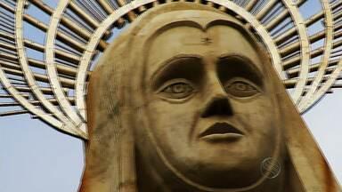 Santa Cruz (RN) abriga a maior estátua religiosa do Brasil - Santa Cruz (RN) abriga a maior estátua religiosa do Brasil.