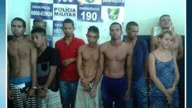 Polícia prende quadrilha suspeita de roubos e furtos em Cuiabá - Polícia prende quadrilha suspeita de roubos e furtos em Cuiabá