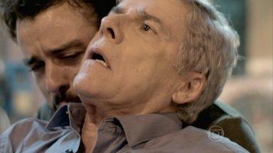 Império - Capítulo de segunda-feira, dia 09/02/2015, na íntegra - Cláudio é ferido e fica entre a vida e a morte