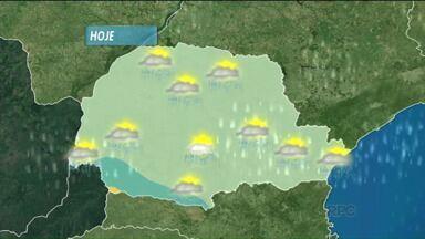 Confira a previsão do tempo para o Paraná - As temperaturas continuaram altas.