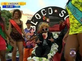 Bloco SOS dá a largada na folia de carnaval em Florianópolis nesta quinta (12) - Bloco SOS dá a largada na folia de carnaval em Florianópolis nesta quinta (12)