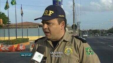 PRF promete reforçar o efetivo e número de viaturas para Operação Carnaval - A ação começa nesta sexta-feira.