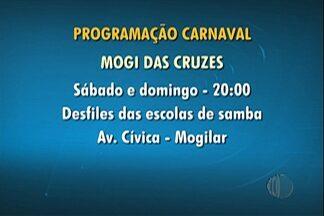 Confira a programação de carnaval nas cidades do Alto Tietê - Em Mogi das Cruzes, o baile '60 Mais Mogi' começa nesta sexta-feira (13) às 19h30.