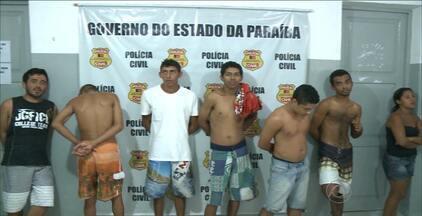 Operação policial prendeu mais de 10 pessoas no sertão da Paraíba - As prisões foram feitas em Patos e os presos são acusados de vendas de armas e munições, assaltos e homicídios.