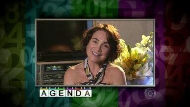 Regina Duarte convida público para o teatro - Atriz está em cartaz com a peça 'A volta para casa'