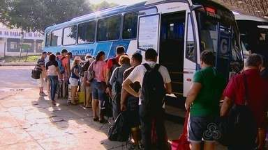 Manauense aproveita feriado de carnaval para visitar cidades do AM - Movimentação na Rodoviária da capital foi intensa na manhã deste sábado.