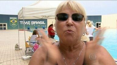 Ex-técnica da Seleção Brasileira, Tatiana Pokowskaya deixa saudade e método usado até hoje - Mesmo longe do time de nado sincronizado do Brasil há mais de 20 anos, ensinamentos utilizados pela treinadora ainda são usados nos treinos por aqui.