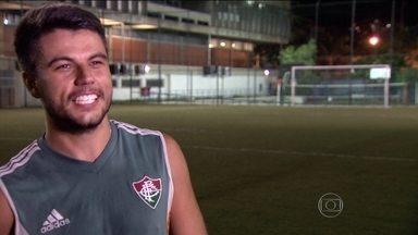Conheça o brasileiro que é melhor jogador do mundo do futebol de 7 - Atleta, que atua no Fluminense, trabalha em escritório de contabilidade durante o dia.