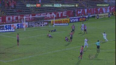 XV perde para o Linense e clube demite técnico Roque Júnior - O XV de Piracicaba perdeu por 2 a 1 no último sábado (21).