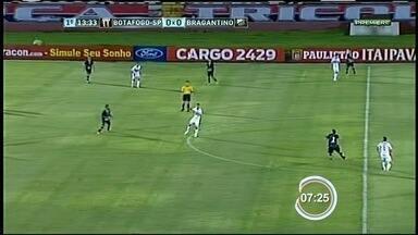 Bragantino perde para o Botafogo-SP pelo Paulistão - É a quinta derrota seguida da equipe de Bragança Paulista.