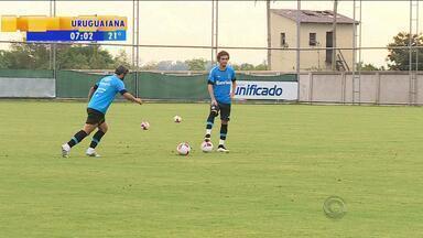 Futebol: Grêmio treina no domingo (23) antes de partida pelo Gauchão - Grêmio enfrenta Juventude, que vem de três vitórias consecutivas.