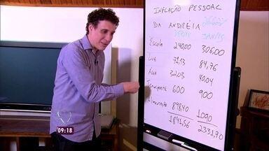 Inflação preocupa brasileiros no início do ano - Especialista Samy Dana ensina a calcular a inflação pessoal de cada um e dá dicas para economizar