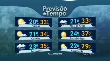 Veja como fica a previsão do tempo para esta segunda-feira (23) - Veja como fica a previsão do tempo para esta segunda-feira (23)