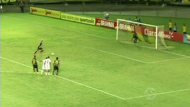 Com um gol para cada lado, Bangu e Voltaço empatam no Raulino - Raphael Augusto abre o placar no primeiro tempo e donos da casa chegam à igualdade com Hugo; Volta Redonda chegou a desperdiçar um pênalti.
