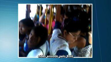 Internauta mostra condições do transporte coletivo - Internauta mostra condições do transporte coletivo em Várzea Grande