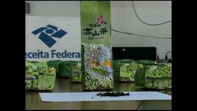 Substância suspeita de drogas encontrada no porto de Rio Grande era chá verde - Chá é composto principalmente por cafeína.