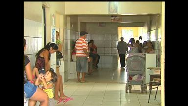 Unidades de saúde continuam apresentando problemas na estrutura - Situação foi mostrada pelo Jornal Tapajós no início da semana, e o problema não foi solucionado até o momento.