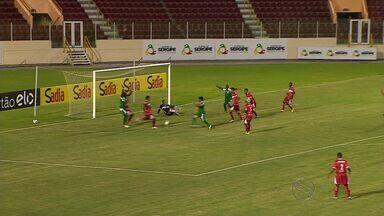 Em estreia na Copa do Brasil, Amadense perde para o CRB-AL de virada na Arena Batistão - Em estreia na Copa do Brasil, Amadense perde para o CRB-AL de virada na Arena Batistão