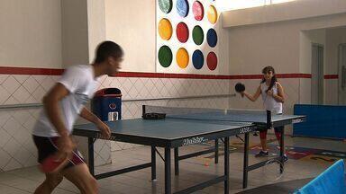 Tênis de mesa sergipano tem uma nova promessa entre as meninas - Tênis de mesa sergipano tem uma nova promessa entre as meninas