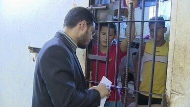 Comissão Carcerária da OAB-AP realiza inspeção na penitenciária estadual - Comissão Carcerária da OAB-AP realiza inspeção na penitenciária estadual