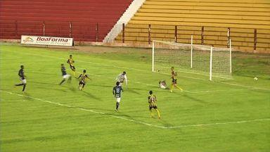 Veja os gols de Rondonópolis 4 x 0 Cacerense - Partida foi disputada no estádio Luthero Lopes