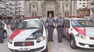 Polícia presta homenagem a soldado morto - A Polícia Militar da região fez uma homenagem a um soldado, que morreu no último sábado, em São Paulo.