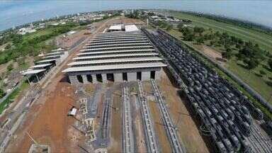 Veja como está o andamento das obras do VLT na Grande Cuiabá - Veja como está o andamento das obras do VLT na Grande Cuiabá.